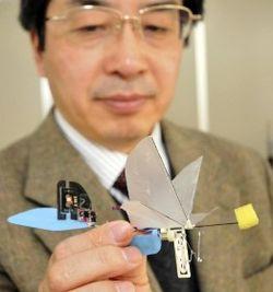 Latająca pluskwa - mikro robot do zadań szpiegowskich